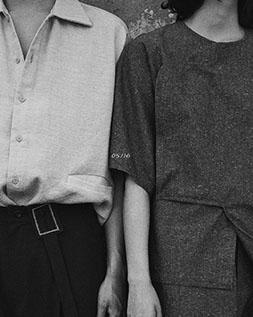 简约风棉麻短袖纯色polo衫夏季